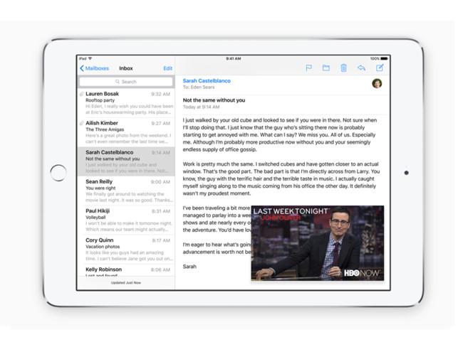 iOS 9 correo