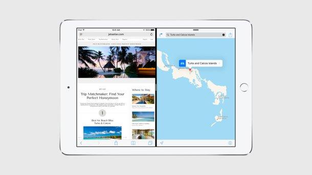 iOS 9 en Ios iPad