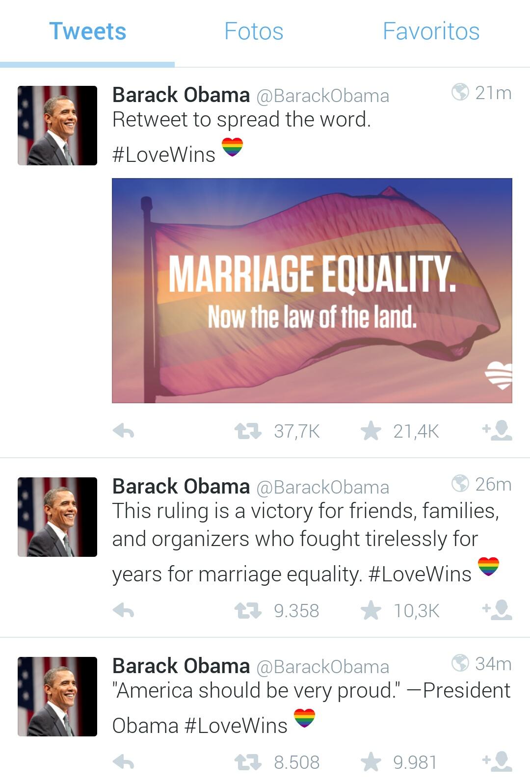 Aprueban Matrimonio Gay