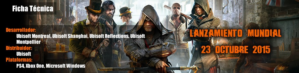 Ficha Tecnica Assassin's Creed Syndicate