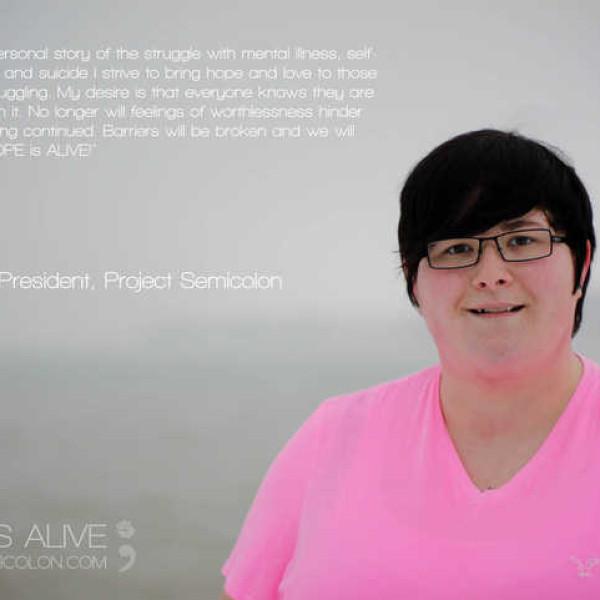 fundadora de semicolon project