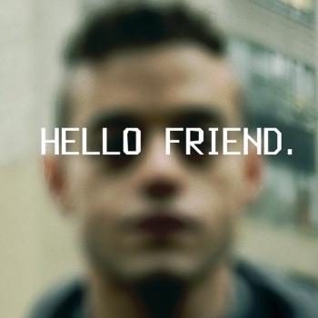 Elliot Alderson Hello Friend