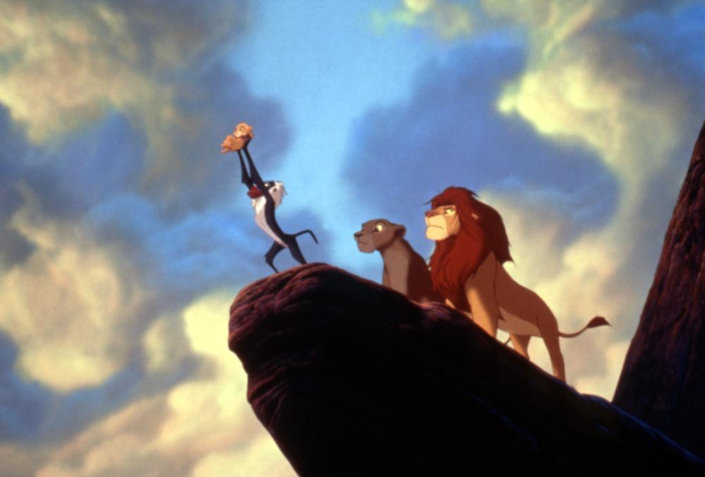 Simba y Rafiki