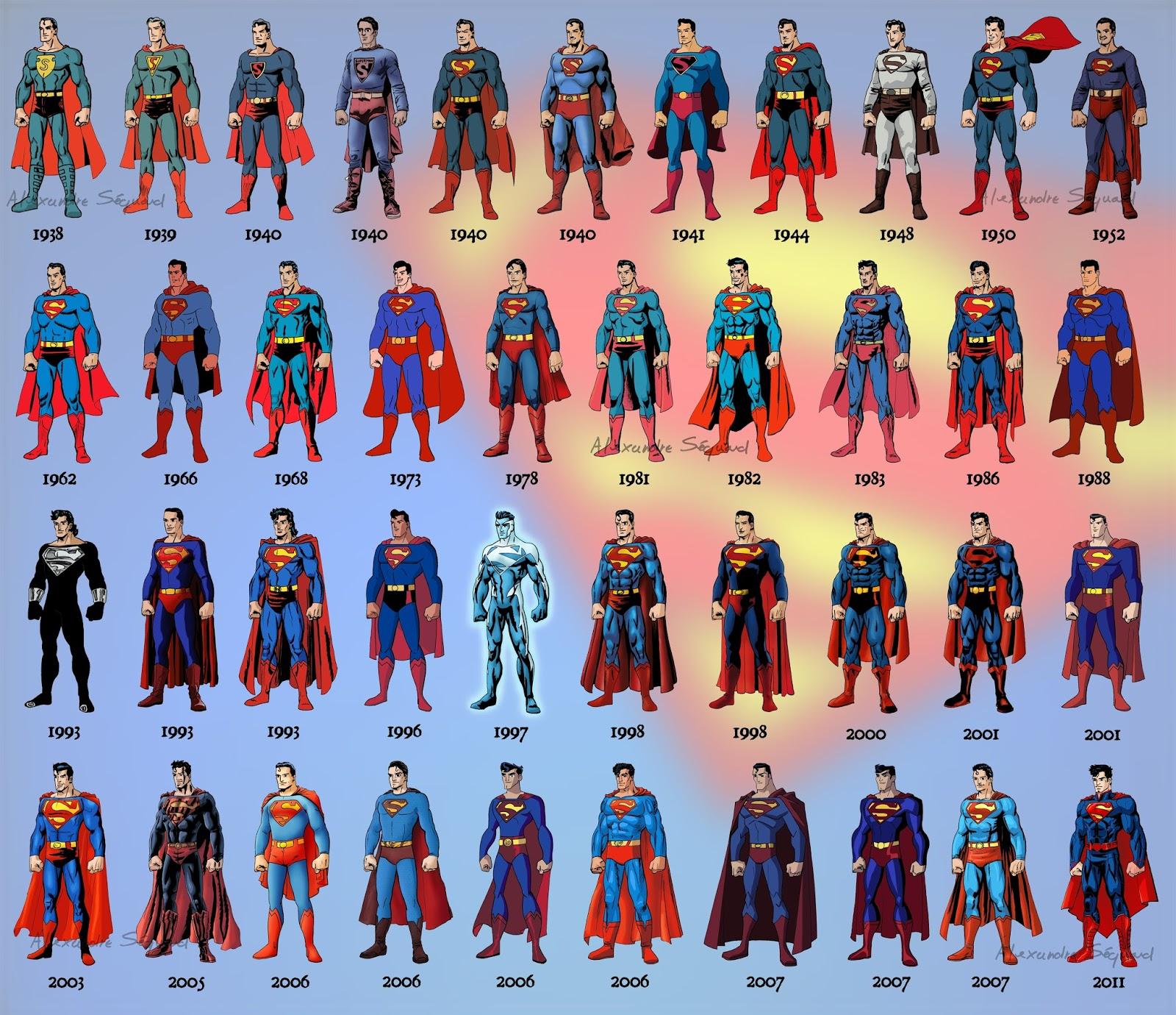 superman en la historia