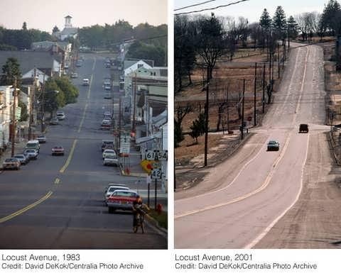 Antes y después de Centralia