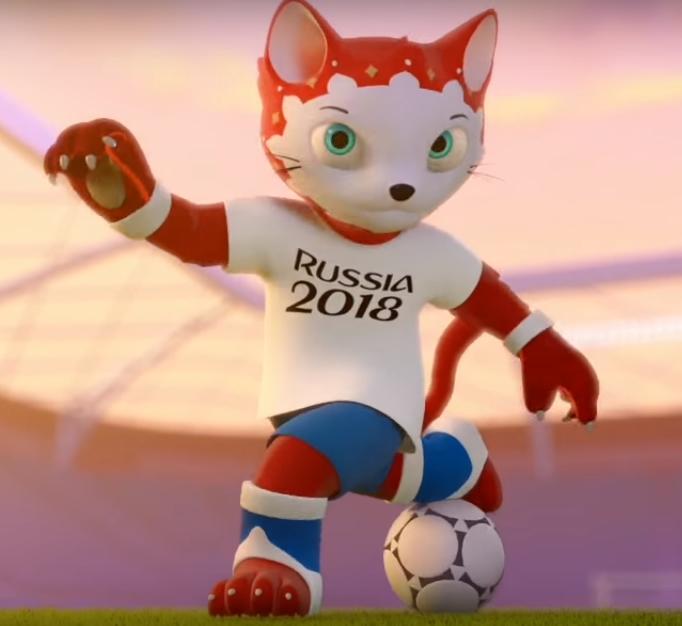 La Mascota del mundial Rusia 2018 elegida por el pueblo ruso