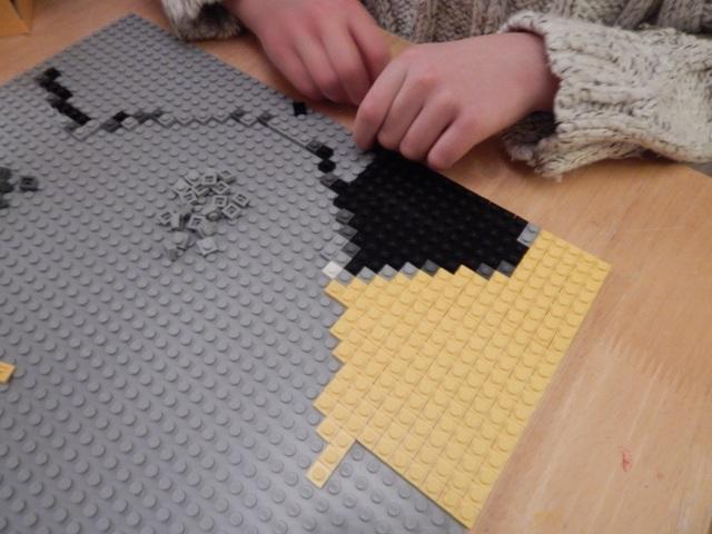 Arma tu Mosaic Maker de LEGO