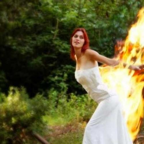 bodas en llamas