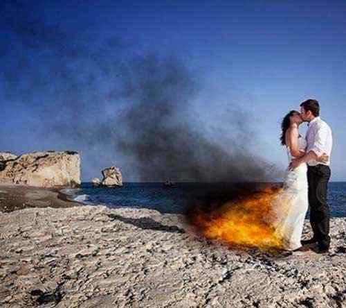 bodas flamables