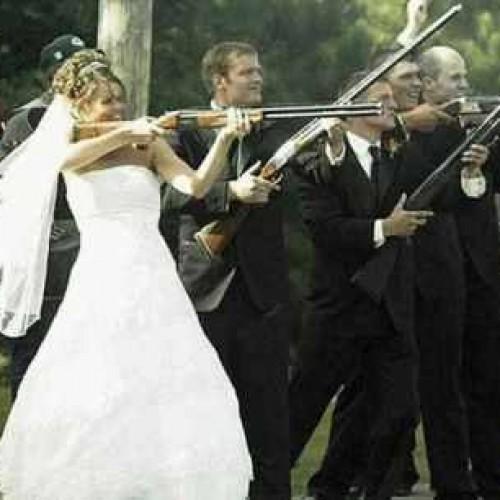 boda armada novia