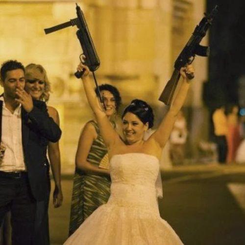 bodas armas y novias