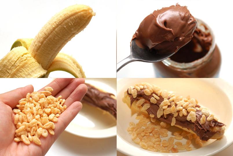 Nutella y Platano