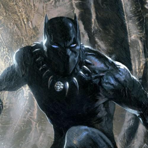 Black Panther por Chadwick Boseman