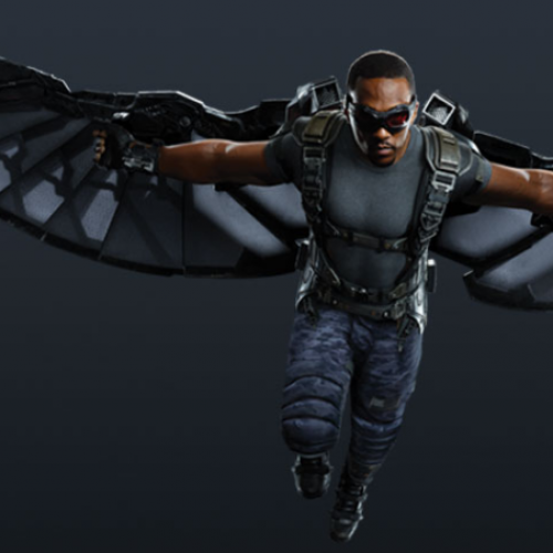 Falcon por Anthony Mackie