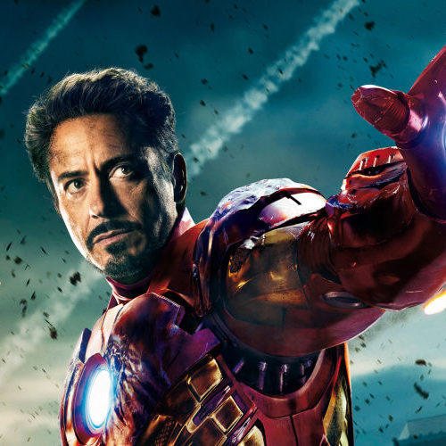 Iron Man por Robert Downey Jr.