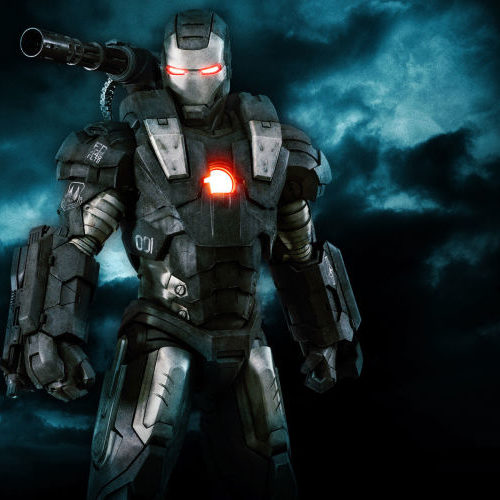 War Machine por Don Cheadle