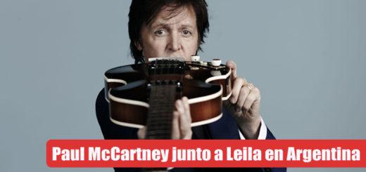 McCartney junto a Leila