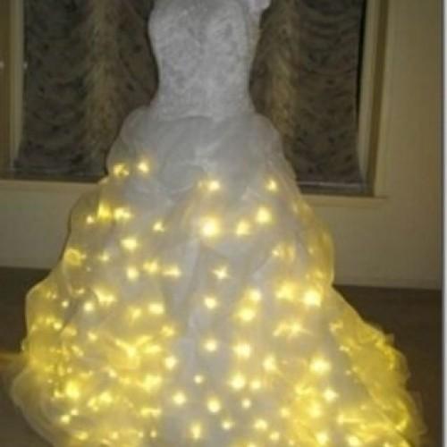 Vestidos de novias con luces