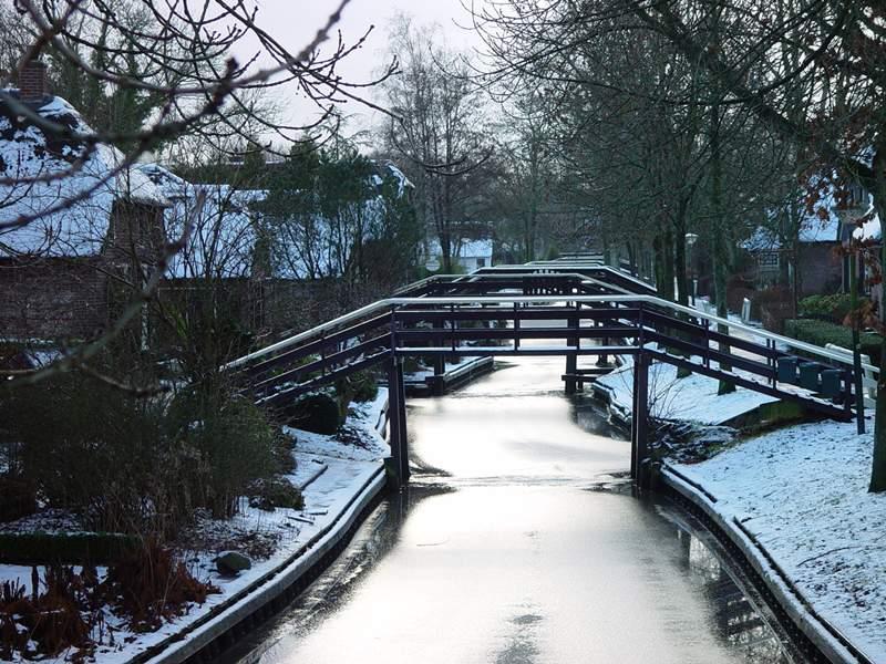 Giethoorn en invierno