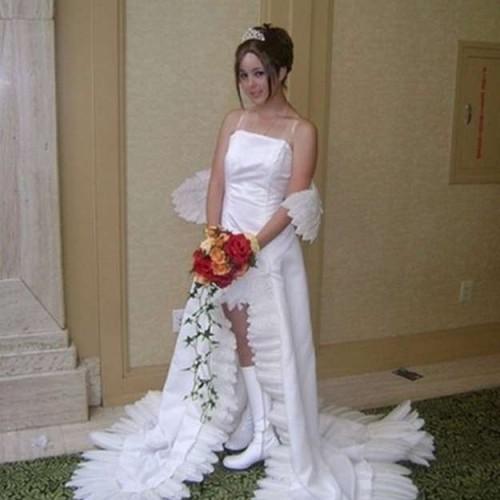 Vestido de novia cosplay