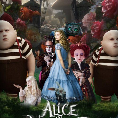 Alicia en el país de las maravillas poster
