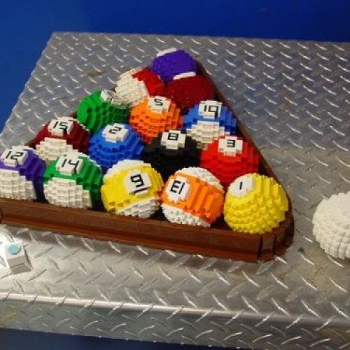 Billar Lego