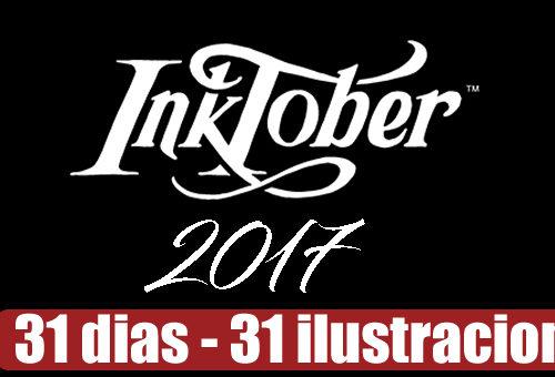InkTober edición 2017, te unes al reto?