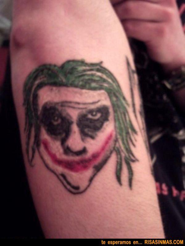 joker tatuaje